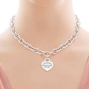 Return to Tiffany - Heart Tag Necklace